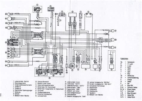wiring diagram 1990 yamaha xt600 get free image about