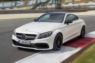 mercedes c 63 amg coupe au salon francfort 2015