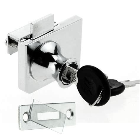 glass cabinet door locks glass cabinet chrome steel lock hinged display cabinets
