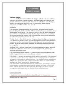 fast food business plan template business plan fast food restaurant pdf