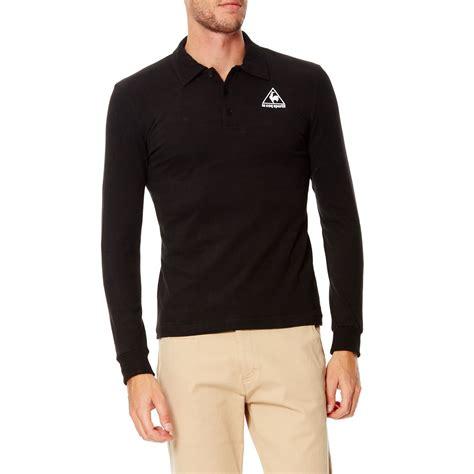 Polo Shirt Le Coq Sportif le coq sportif polo shirt schwarz brandalley