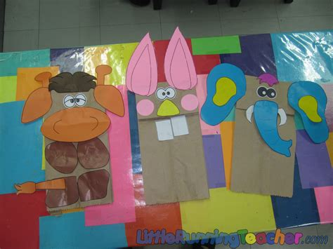How To Make Animal Puppets With Paper - pin paper bag animal puppets templates image search