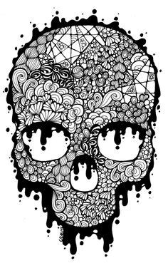 sugar skulls day   dead coloring pages