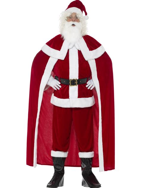 adult deluxe santa claus costume 43124 fancy dress ball