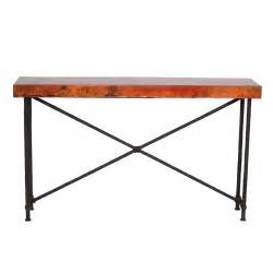 Iron Console Table Contemporary Wrought Iron Burlington Console Table 60in X 14in Top