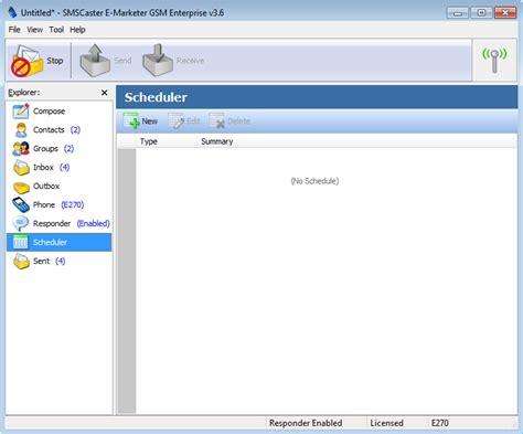 Sms Caster Version Software Sms sms caster e marketer 3 7 enterprise fff
