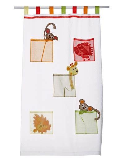 Curtain White Jungle Safari Animal Nursery Pinterest Jungle Curtains Nursery