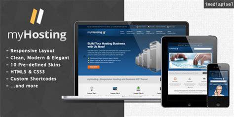 themeforest hosting theme myhosting themeforest responsive hosting business