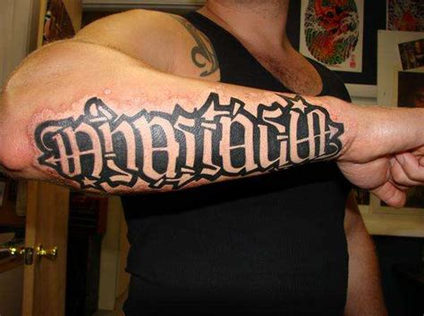 anagram tattoos anagram