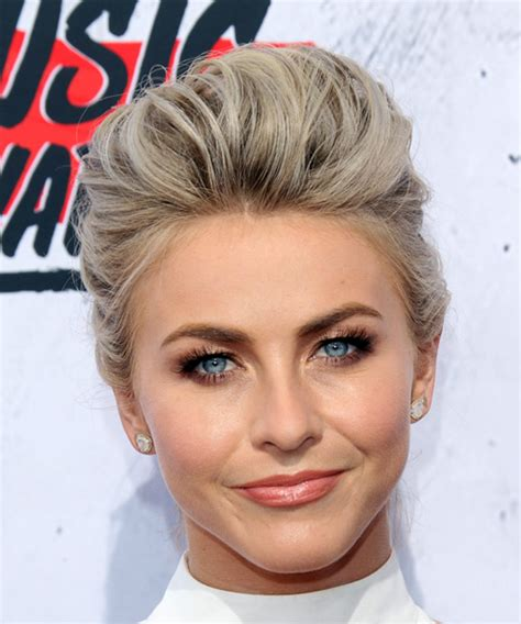 how to the famous julianne hough updo julianne hough long straight formal wedding updo hairstyle