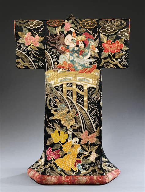 Outer Kimono by Outer Kimono Uchikake Satin Silk With Appliqu 233 And