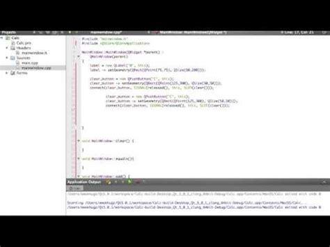 qt tutorial for beginners c qt c gui calculator tutorial