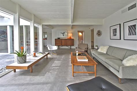 palm springs interior design arthur elrod s original mid century home in racquet club