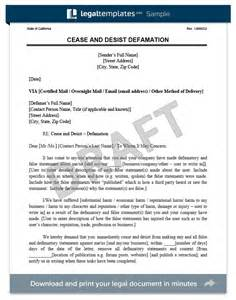 cease and desist letter create a free cease and desist