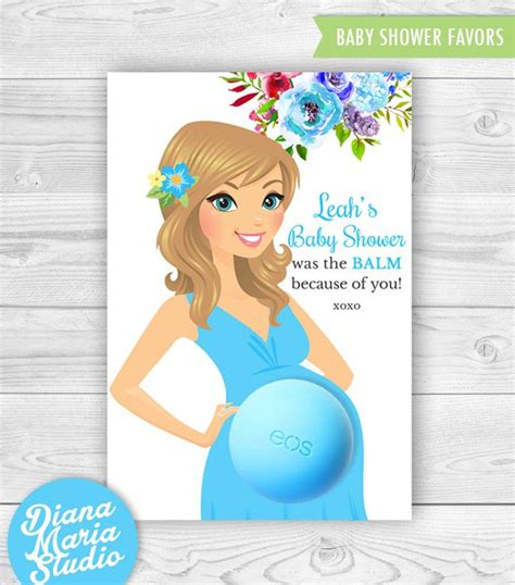 eos card template 49 best baby shower favors with eos lip balm images on
