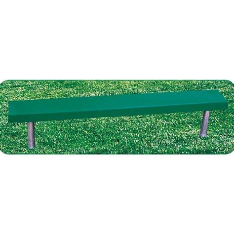 bench without back fiberglass bench without back