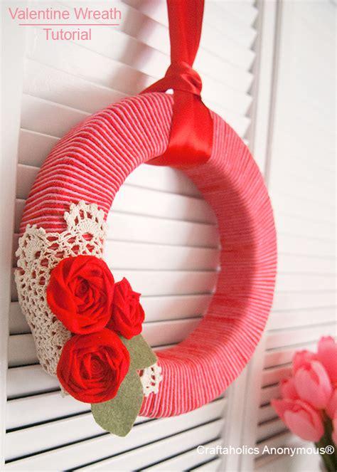 diy valentines wreath simple wreath diy tutorials collection