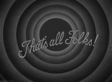 Thats all folks gif 22 » GIF Images Download D Alphabet Wallpapers