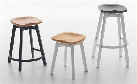 Ongoing Stools by Su Stool With Wood Seat Hivemodern