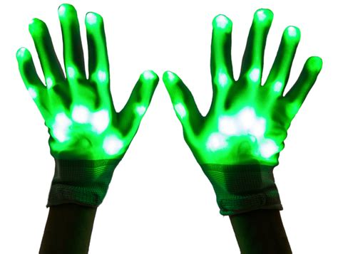 led light up gloves youth sized led light up gloves neon nightlife
