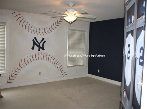 yankees bedroom ny yankees big boy room traditional kids other metro