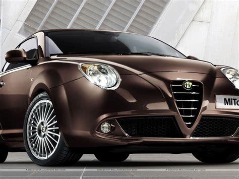 Alfa Romeo Mito Colours Alfa Romeo Mito In Brown Color Hd Wallpaper