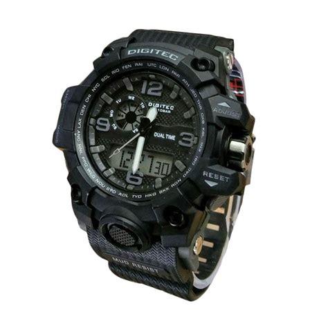 Dual Time Jam Tangan Digitec Jam Tangan Pria 2112 Navu Lis Abu jual digitec dg x 02093 dual time jam tangan sport pria