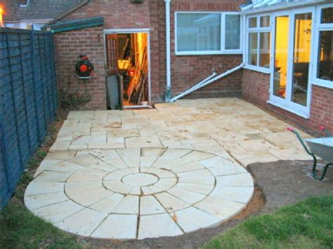 How Much To Lay Patio Slabs by Finished Laying The Patio 16 06 05 Kieran S