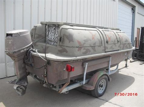 outlaw aluminum boats outlaw 14 duck blind boat aluminum boats used in rock