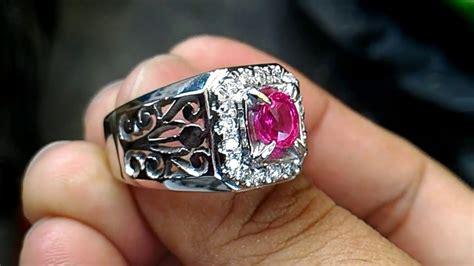 Ruby Birma Burma cincin batu ruby burma nh 0 99 cts
