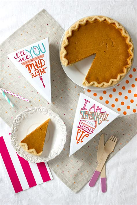 printable leftover pie labels  thanksgiving