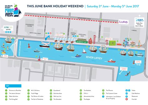 dublin port the dublin port riverfest event map is here corporate