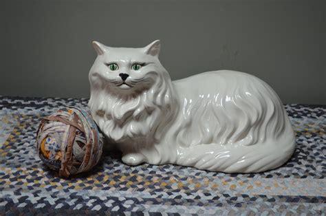 Cat Figurine large ceramic cat figurine images