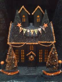 lighted houses ooak light up like department 56 putz haunted