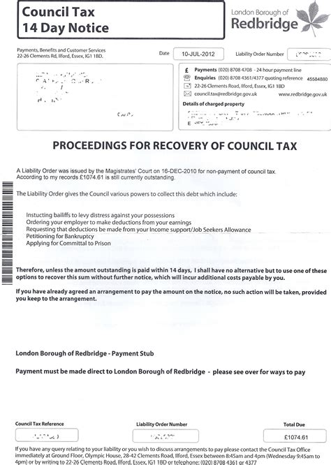 Council Tax Complaint Letter Template 100 Council Tax Collection Letter Croydon U0027s Labour Lobos And Debt