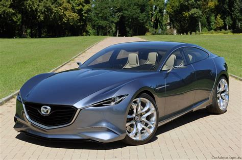 where are mazda cars mazda shinari concept public debut in milan photos 1 of 7