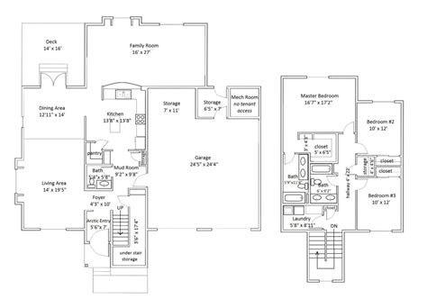 type l floor plan 27l aurora military housing