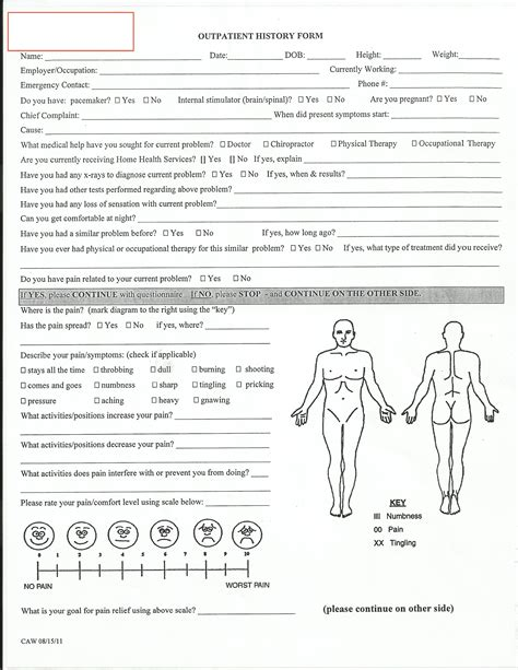 Evaluation Physical Therapy Evaluation Form Physical Therapy Evaluation Form Template