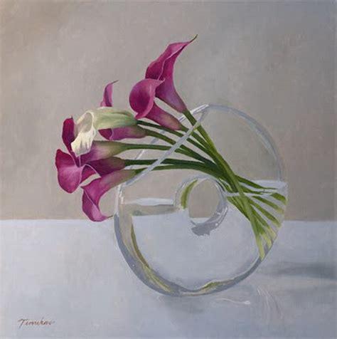 arreglos florales en floreros de vidrio cuadros modernos arreglos florales cartuchos en floreros