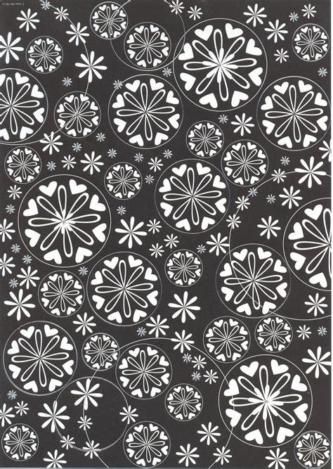 Decorative Craft Paper - black white a4 decorative paper pda card craft