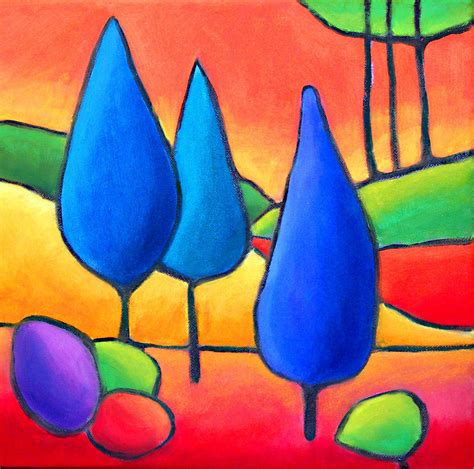 what are contrasting colors 3 trees lesson on contrasting colors warm vs cool
