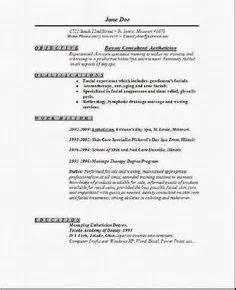 Esthetician Cover Letter Sle by Esthetician Cover Letter Http Www Resumecareer Info