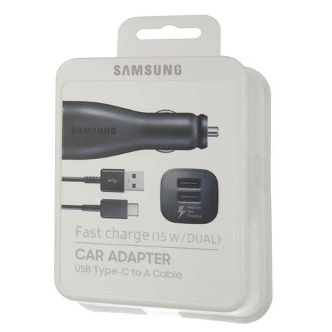 Car Adapter Charger Mobil Samsung Dual Car Fastcharger Original samsung dual fast car charger зарядно за кола с бързо зареждане и usb c кабел на топ цена