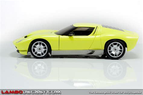 Lamborghini Miura Concept Price The 1 24 Lamborghini Miura Concept From Mondo Motors A
