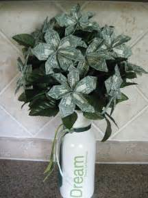 money flowers i made this money flower bouquet for my granddaughter it is so easy to create it go to http