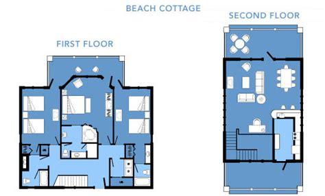 Disney Vero Cottage Floor Plan - disney s vero resort