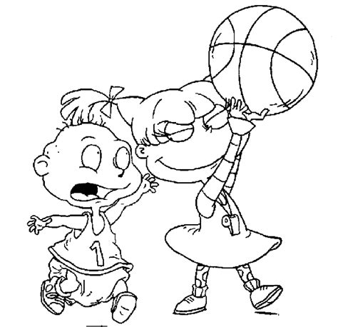 Nicktoons Coloring Pages free nickelodeon coloring pages picture
