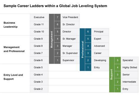design management ladder global job leveling at radford a tailor made approach for