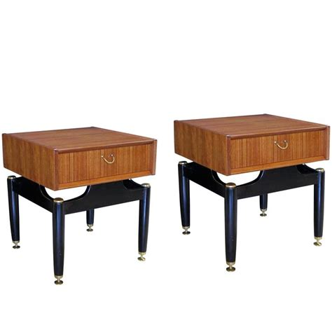 cool bedside tables cool pair of english mid century g plan tola librezza