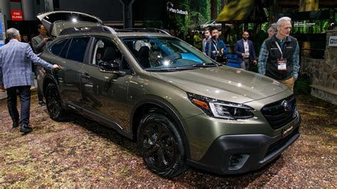 all new subaru outback 2020 2020 subaru outback debuts with more power familiar look